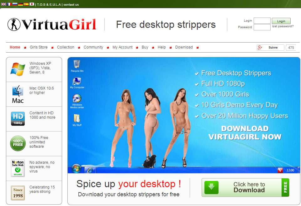 The Virtual Girl Free Download